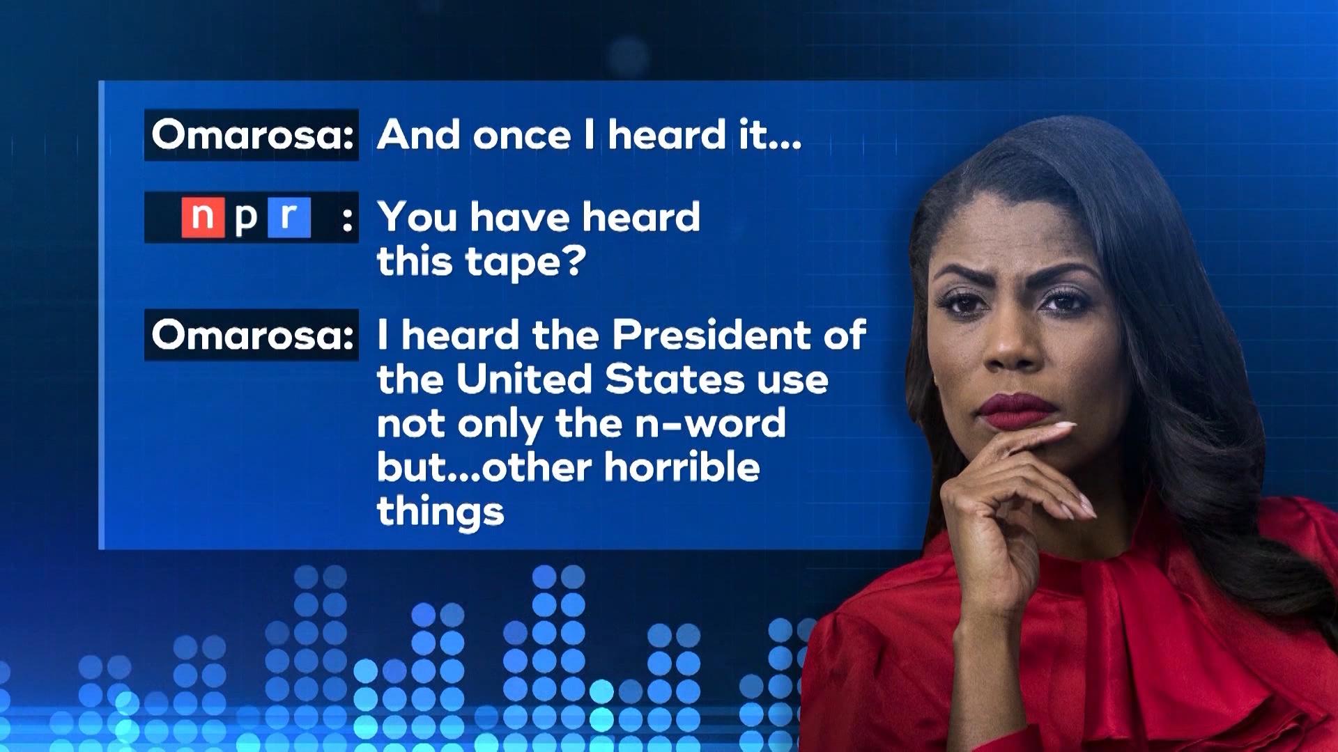 omarosa accuses donald trump of using n word multiple times on