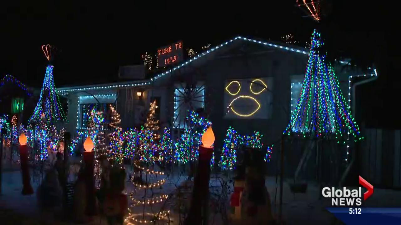 Some of the best Christmas lights in Edmonton | Watch News Videos Online