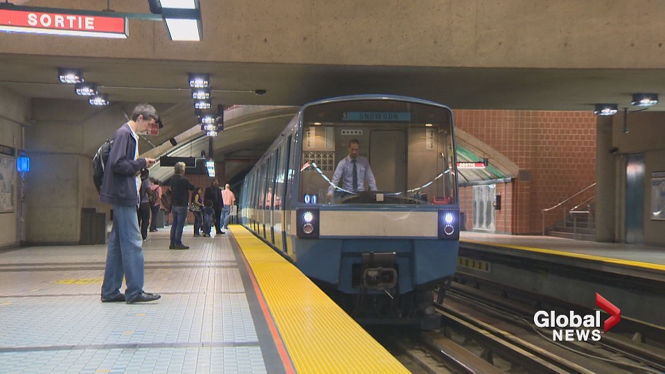 A pink line for Montreal's Metro