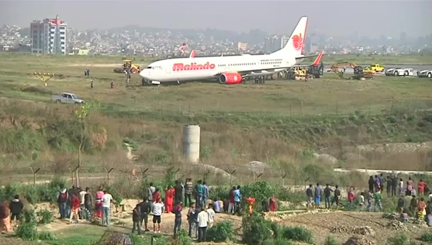 Plane Skids Off The Runway During Takeoff In Nepal 2nd Crash At Airport A Month