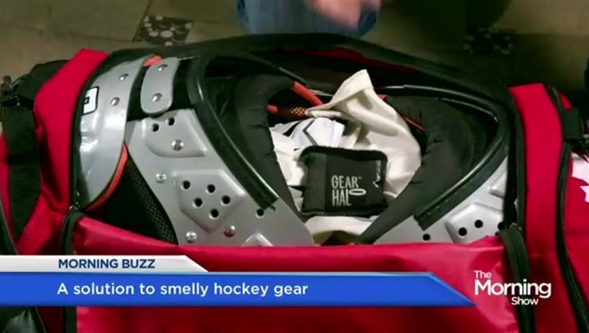 A Canadian Solution To Smelly Hockey Gear Watch News Videos Online