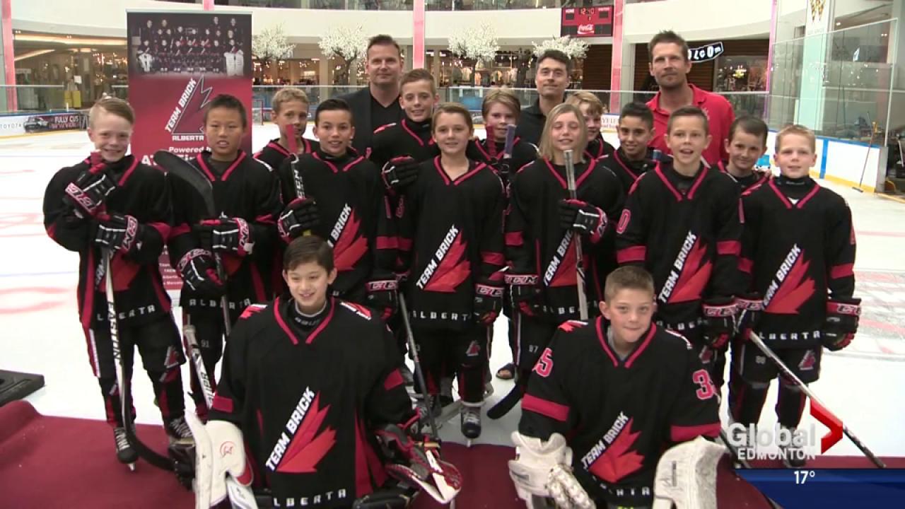 Team Brick Alberta Introduced At West Edmonton Mall Watch News