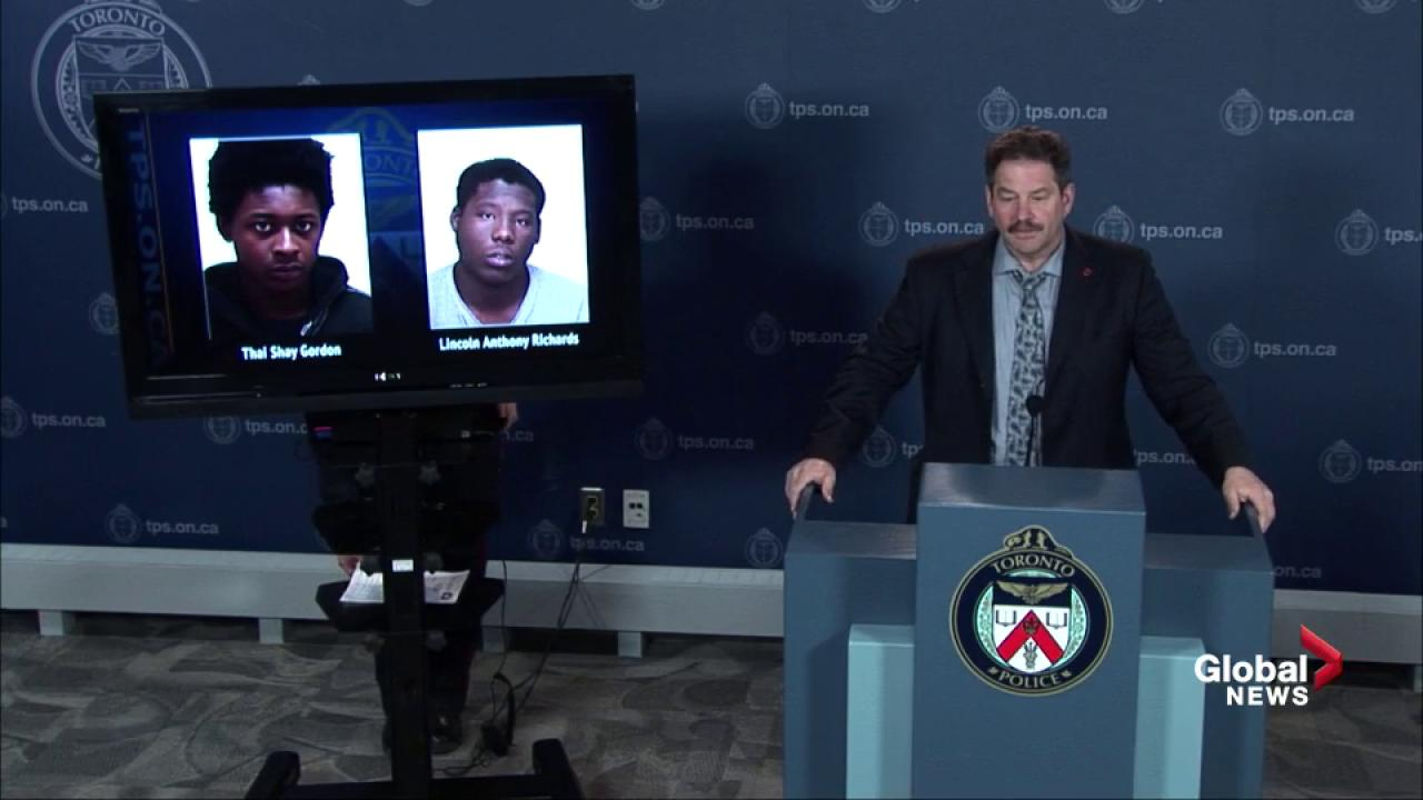 Toronto police provide update on suspects involved in shooting, kidnapping