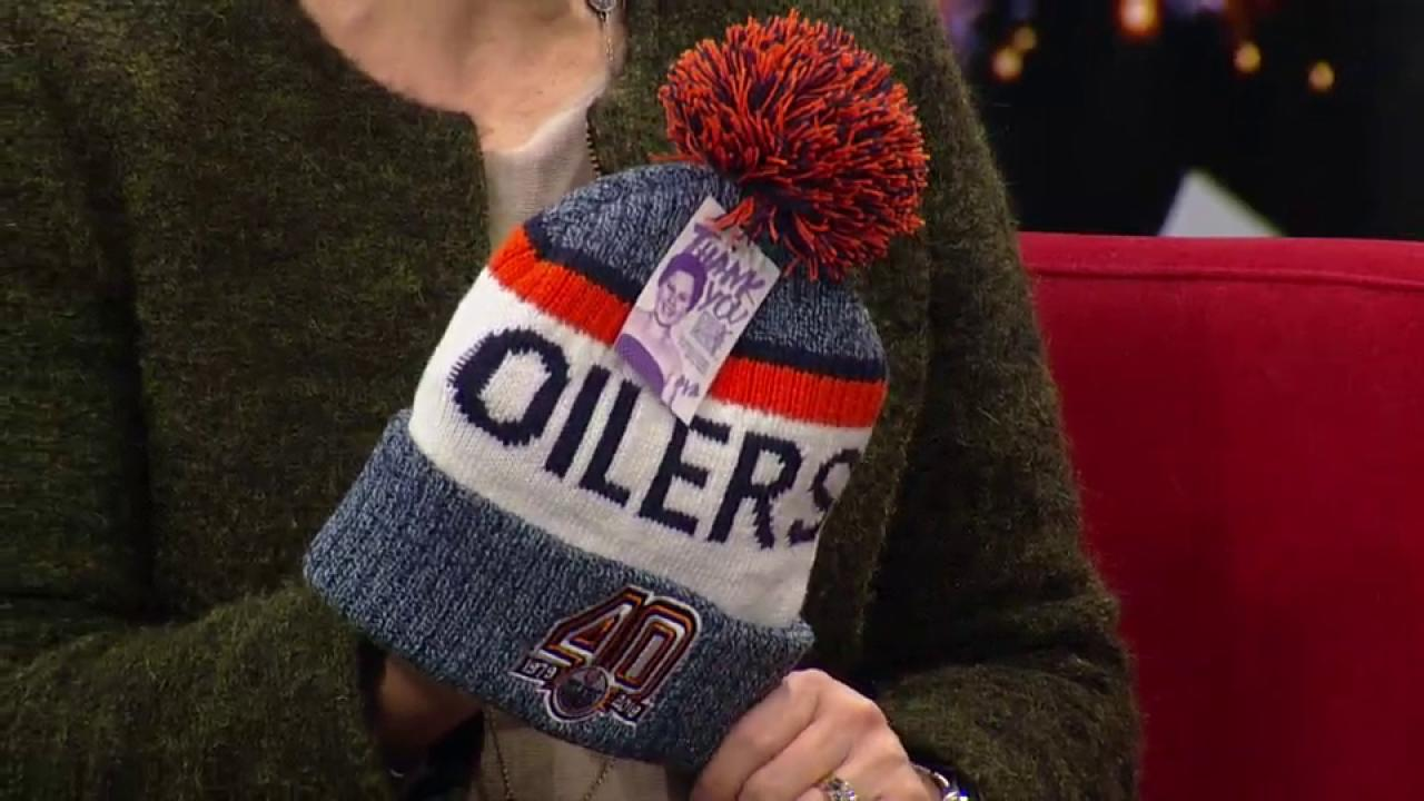 the latest f593b e3ee5 Hockey fights Cancer: Special Edmonton Oilers toques being sold at Rogers  Place