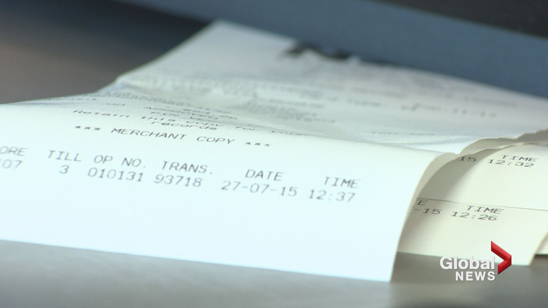 NSLC stores stop printing receipts to cut down on paper waste ...