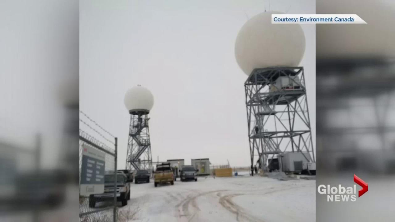New weather radar station running in Radisson, Sask. | Watch News ...