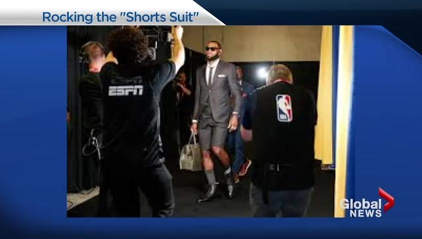Download Lebron James Shorts Suit Background