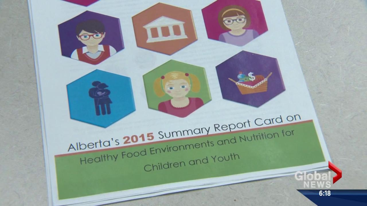 Alberta\'s grade in kids\' nutrition   Watch News Videos Online