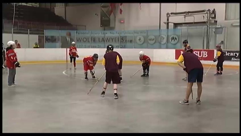 Special Olympics Floor Hockey Tournament Watch News Videos Online