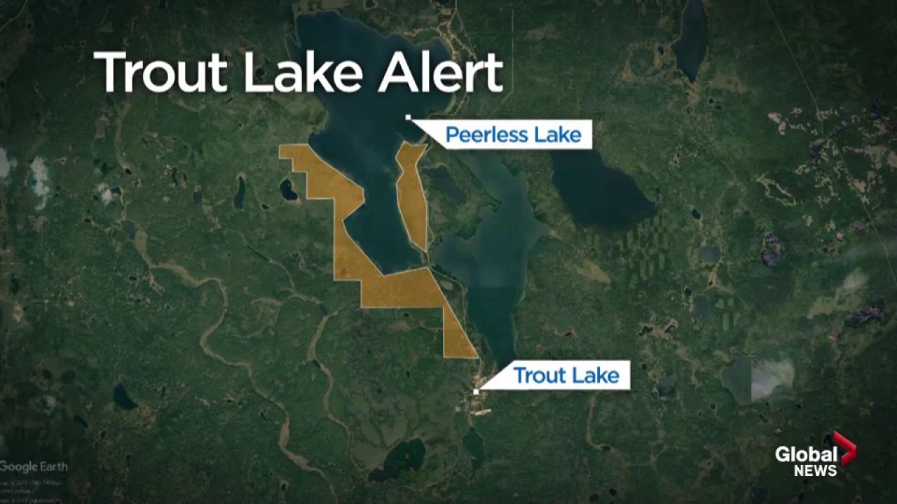 Alberta Wildfires Monday Morning Update Trout Lake Evacuation