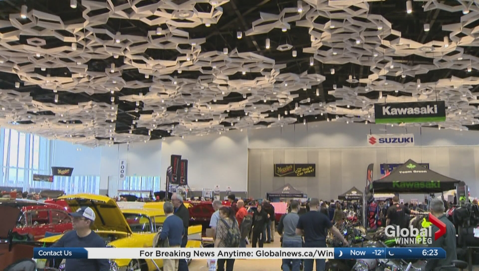 World Of Wheels Taking Over Rbc Convention Centre Watch News
