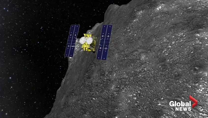 Japanese spacecraft successfully lands on asteroid Ryugu