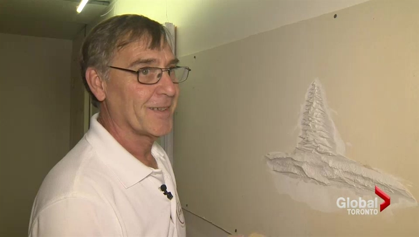 Peterborough drywall artist becomes internet sensation