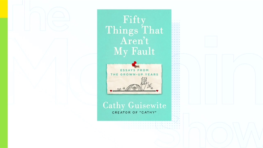 Legendary comic creator Cathy Guisewite on her new book, 'Fifty Things That  Aren't' My Fault
