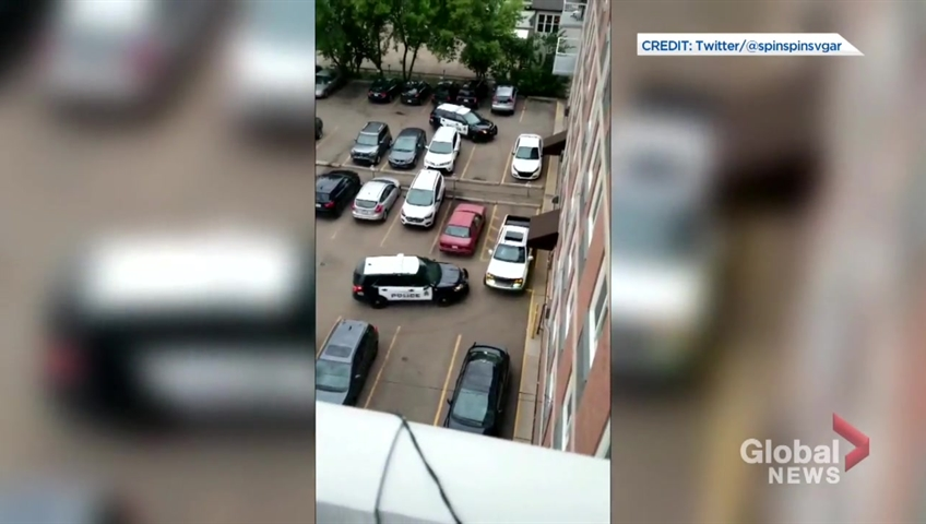 Dramatic Edmonton police takedown shines spotlight on action of officers