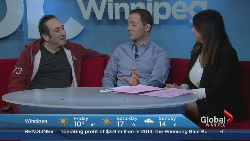 Comedian Jeremy Hotz chats about the Winnipeg Comedy Festival