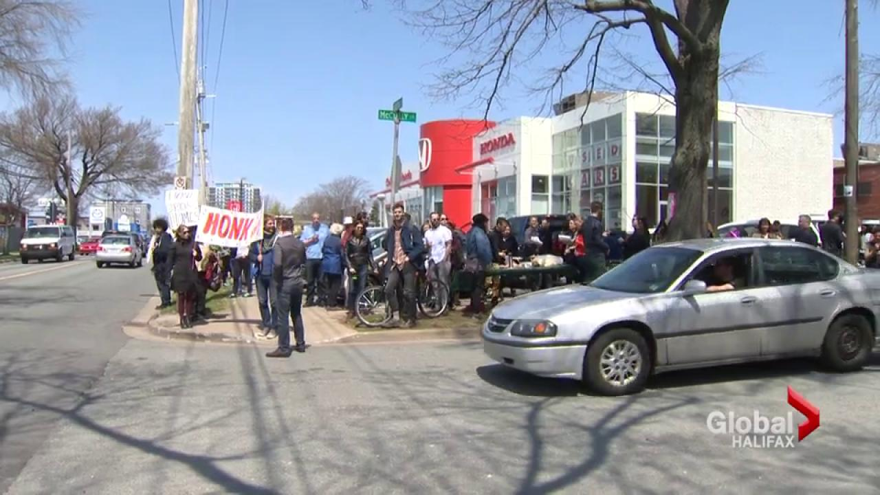Homes Not Hondas Rally Protests Colonial Honda Expansion | Watch News  Videos Online