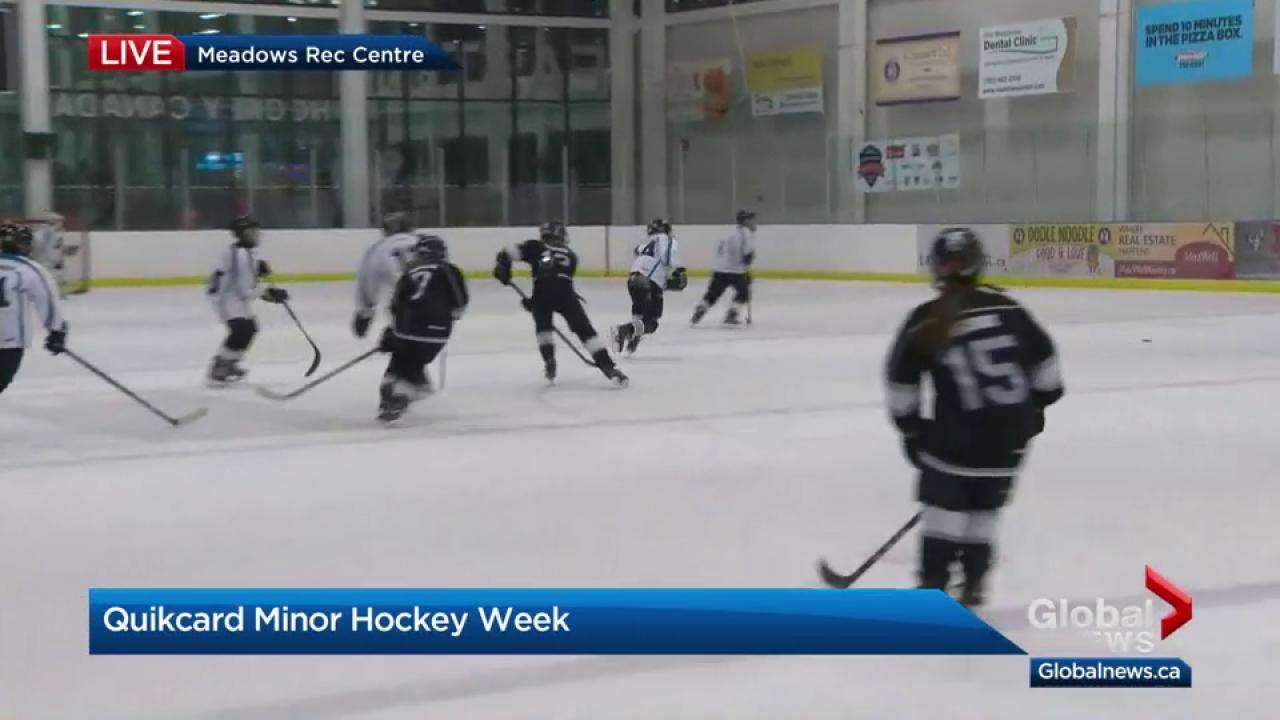 Excitement Builds For Quikcard Edmonton Minor Hockey Week Watch
