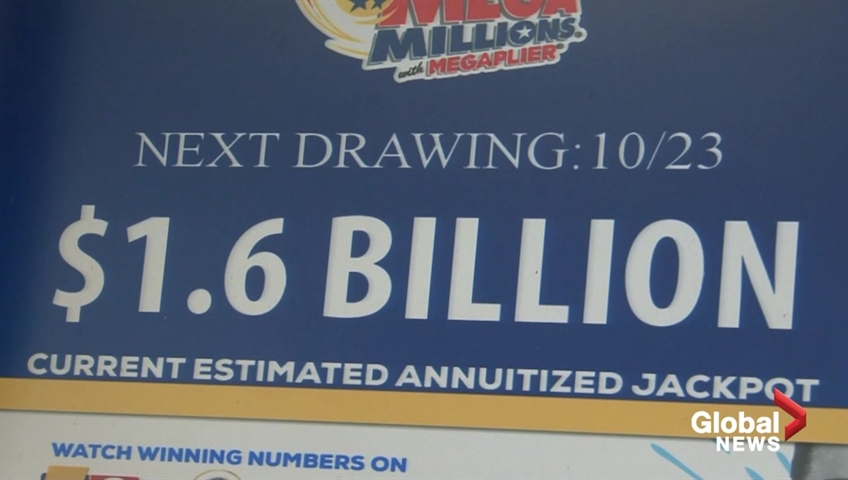 Biggest U S  lottery jackpot ever is now up for grabs as Mega Millions  reaches $1 6 billion