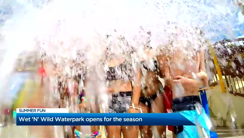 Wet 'N' Wild Waterpark opens for the season