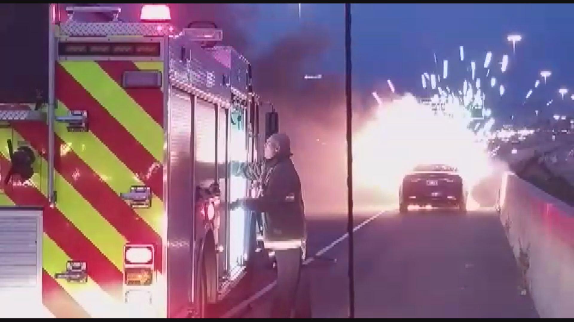 hyundai engine catches fire days after dealer inspection | watch news  videos online
