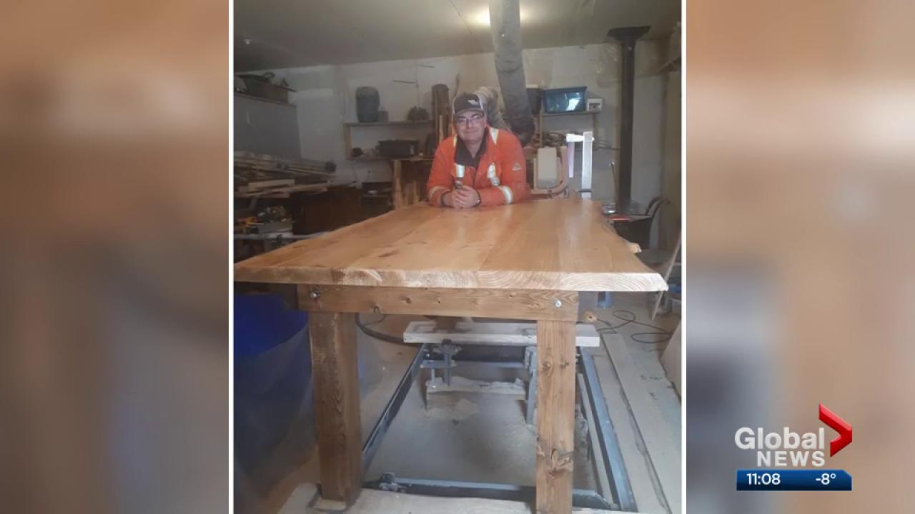Fort McMurray Family Hopes To Find Missing Table Shipped Them From Newfoundland