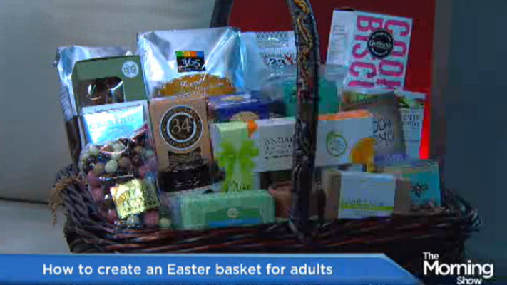 How to make easter basket for grown ups watch news videos online negle Image collections