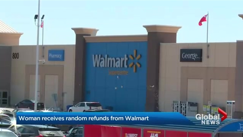 Walmart accidentally gives customer $21K, woman tries to return money