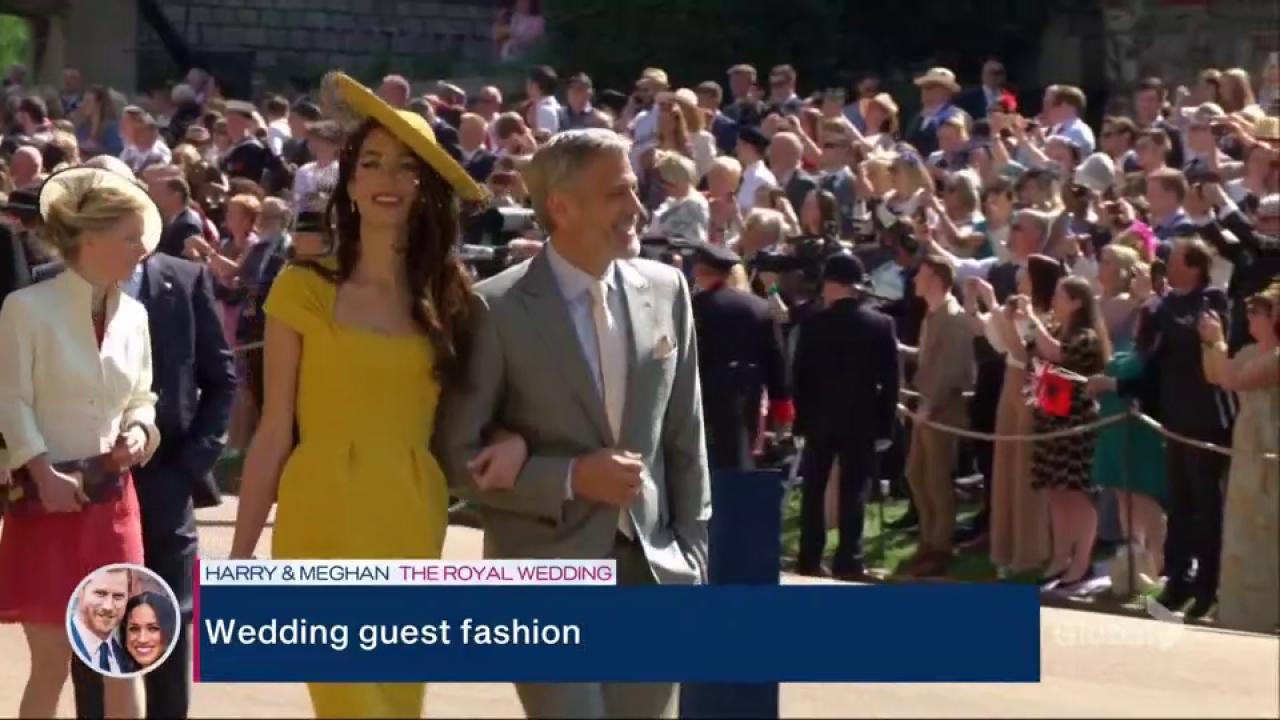 Royal Wedding Fashion Worn By Guests Of The Wedding Watch News