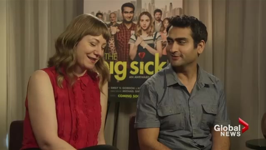 Kumail Nanjiani and Emily Gordon talk their film, 'The Big Sick'