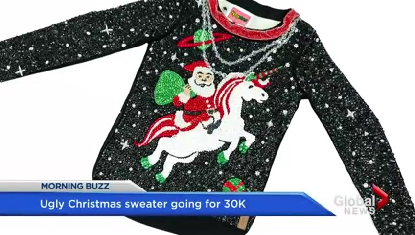 Is This The Worlds Most Expensive Ugly Christmas Sweater Watch