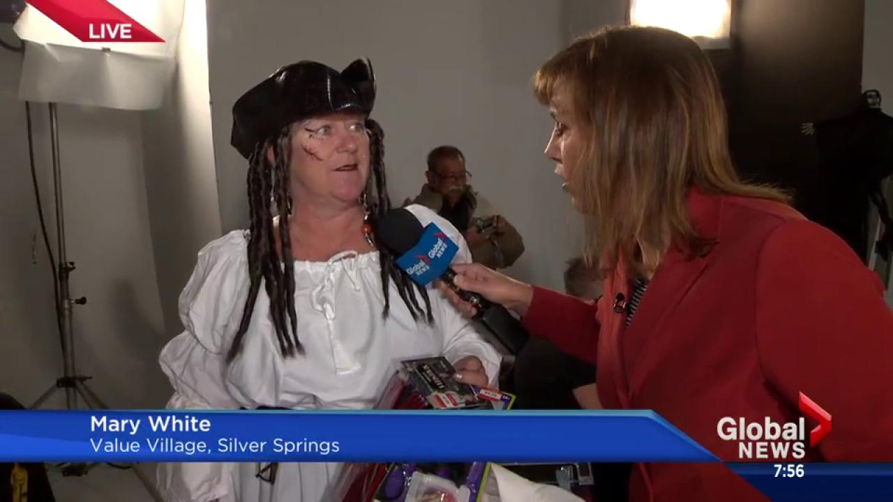 last minute halloween costume ideas from value village | watch news