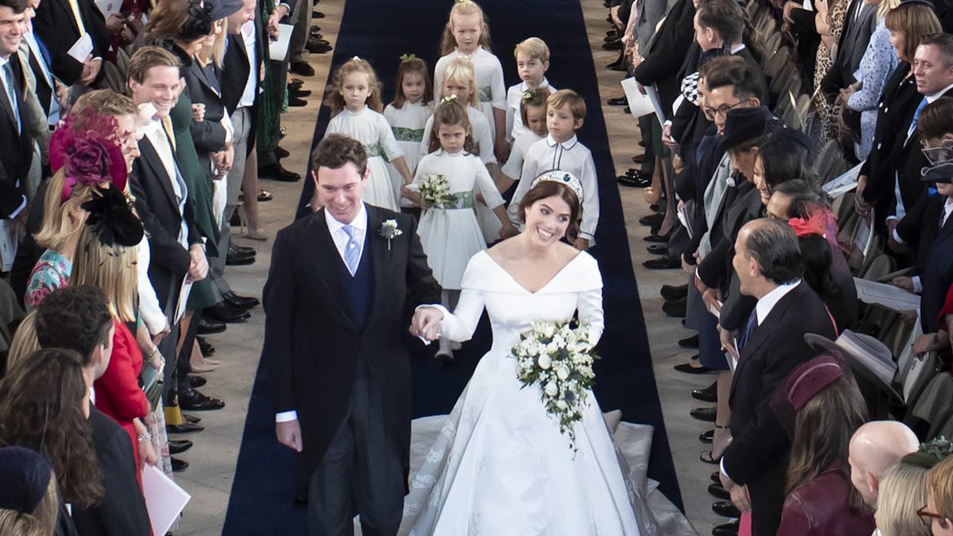 Princess Eugenie Wedding Televised.Highlights Of Princess Eugenie S Wedding To Jack Brooksbank