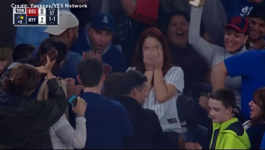 Fan Nearly Botches Proposal At Yankee Stadium After Losing Ring In