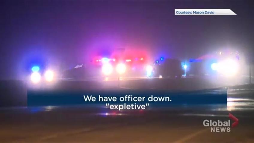 Scanner audio captures moments when Alberta RCMP officer shot