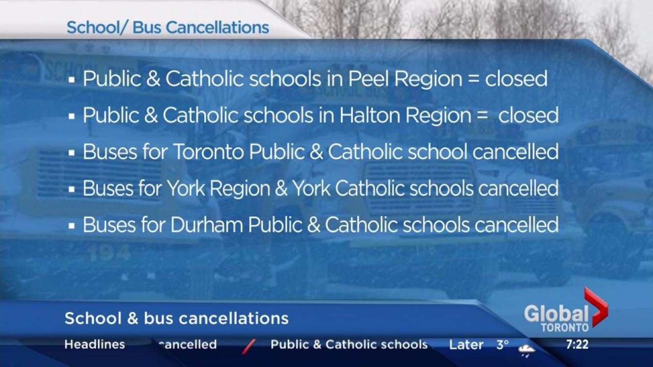 Schools closed, buses cancelled as winter blast leaves Southern ...