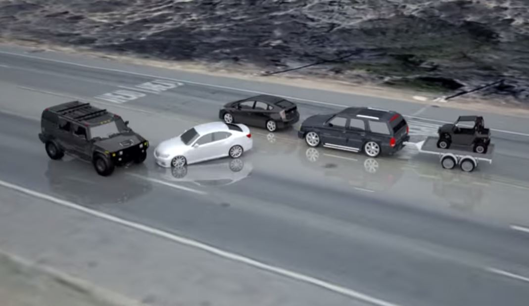 New animation shows Bruce Jenner started fatal car accident | Watch ...