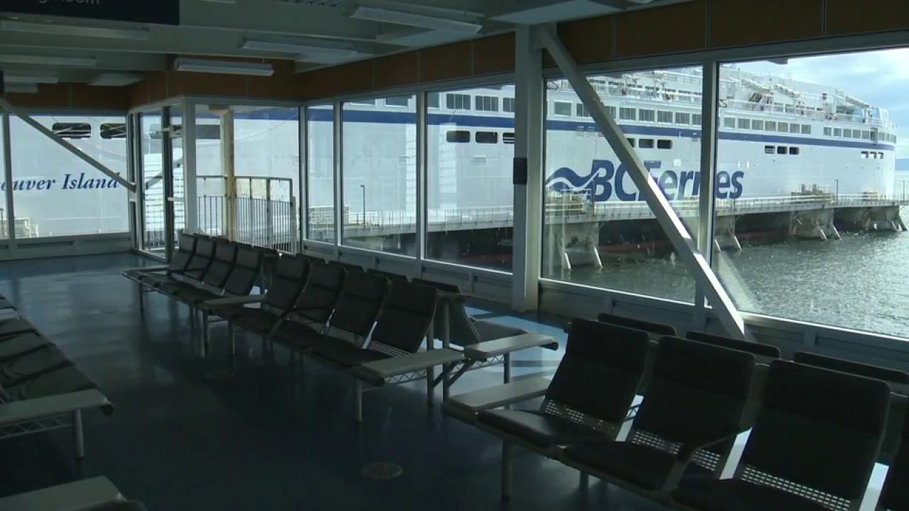 BC Ferries cancellations after crew members injured during drill ...