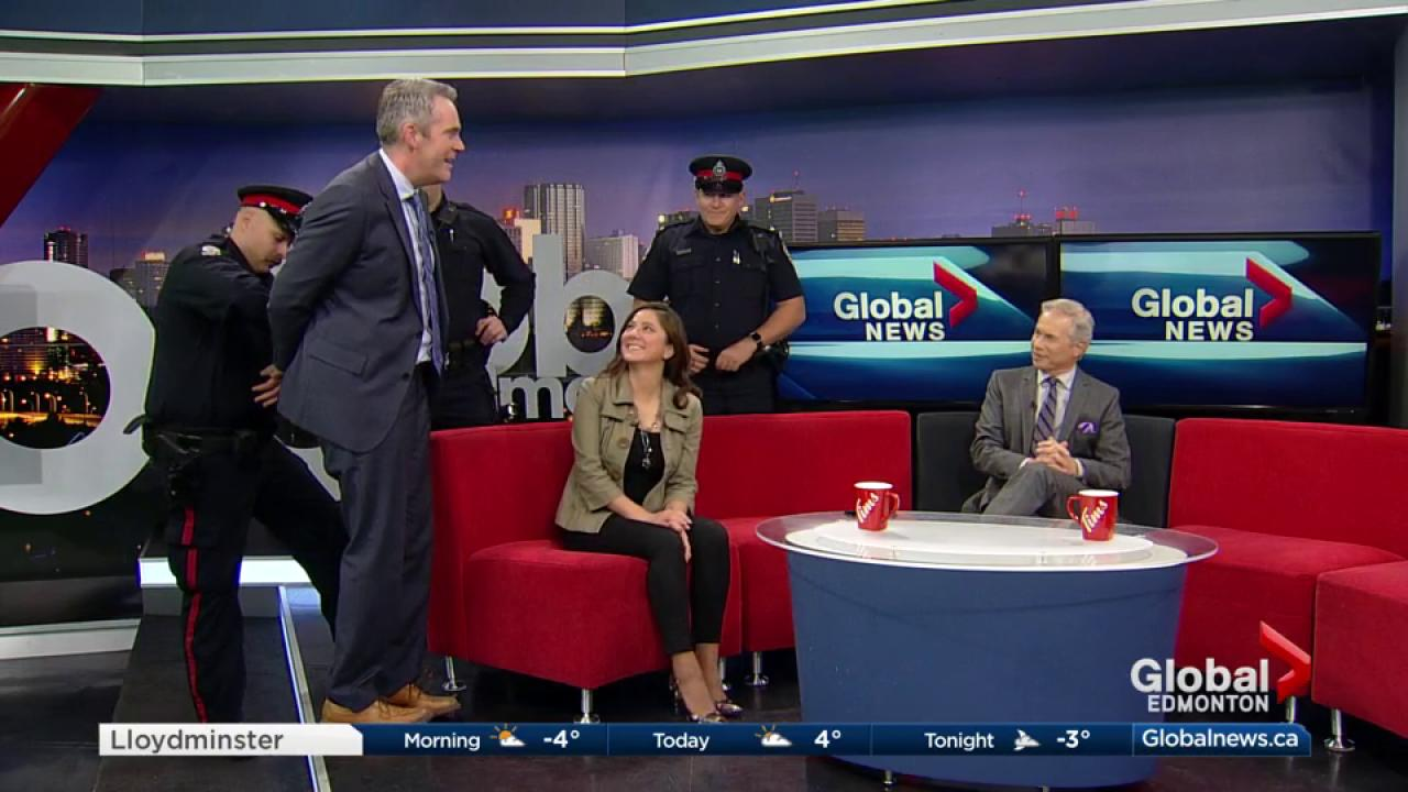 Global News Morning team arrested by Caught by Crime Stoppers | Watch News  Videos Online