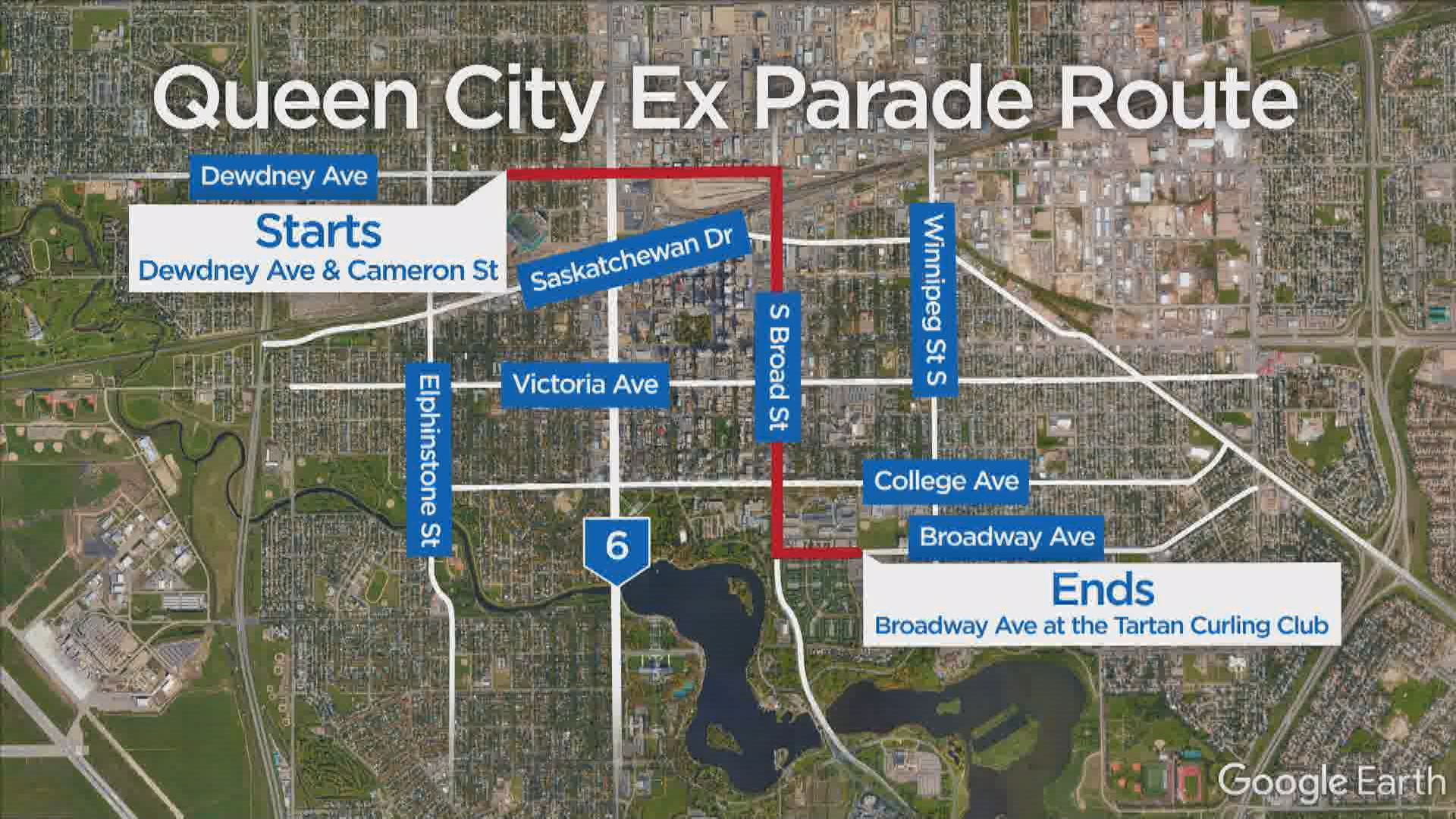 Queen City Ex kicks off tonight with annual parade downtown | Watch ...