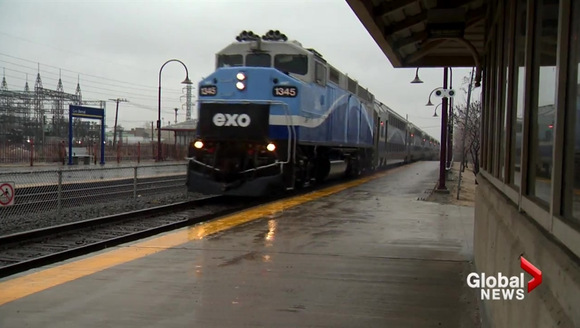 Service disruptions ahead for commuter trains in Montreal