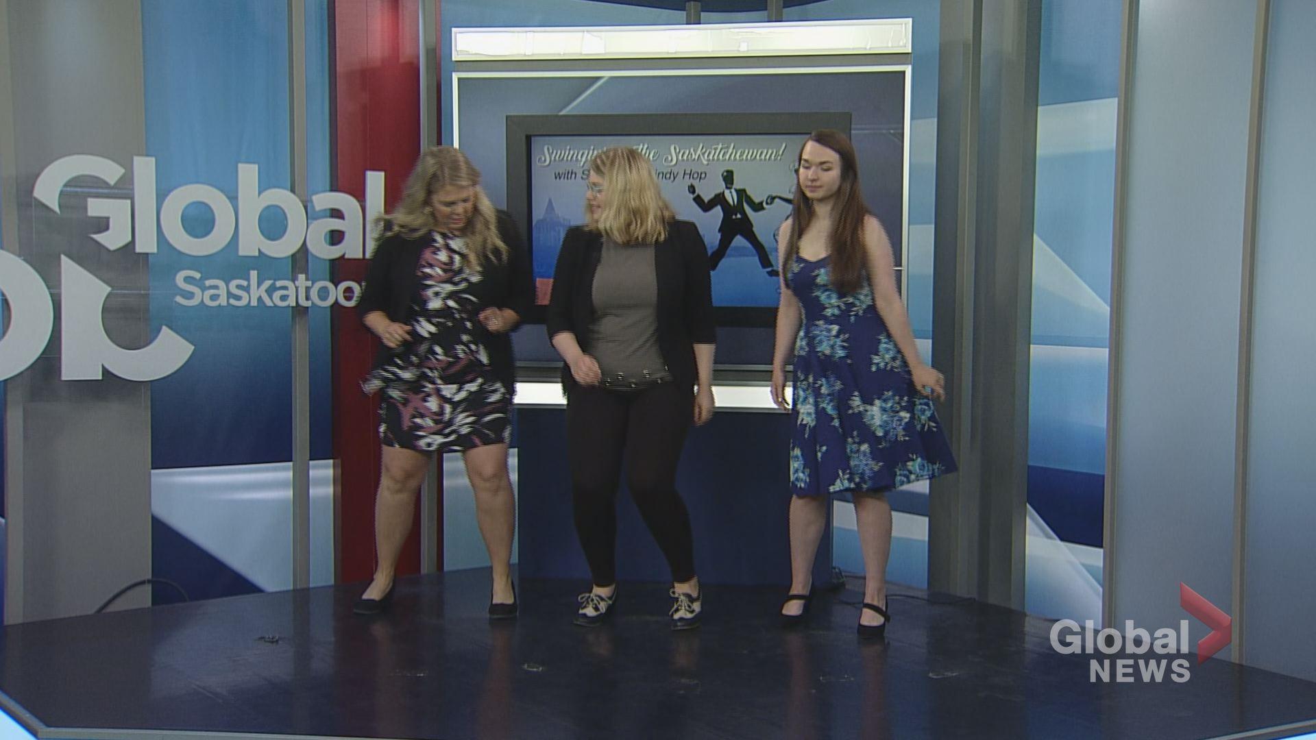 Swing Dancing By The South Saskatchewan River Watch News Videos Online