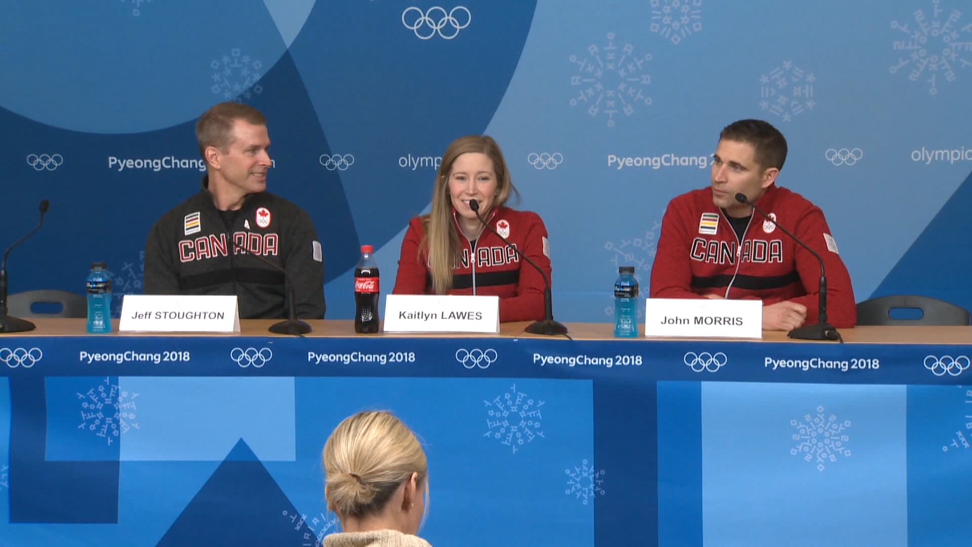 Canada\'s Kaitlyn Lawes and John Morris on their gold medal win ...
