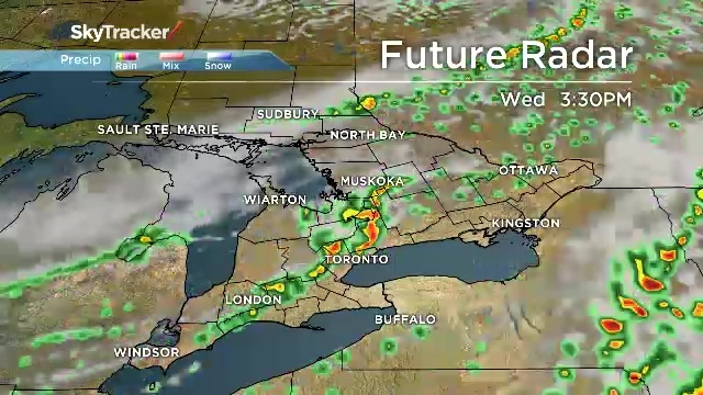 Radar Shows Severe Weather On The Way For Southern Ontario Watch