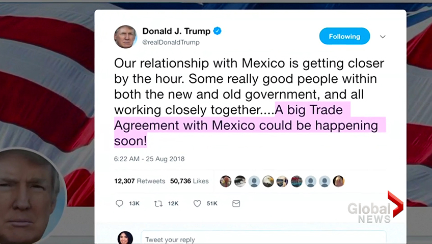 Trump Says Trade Deal With Mexico Could Happen Soon Watch News