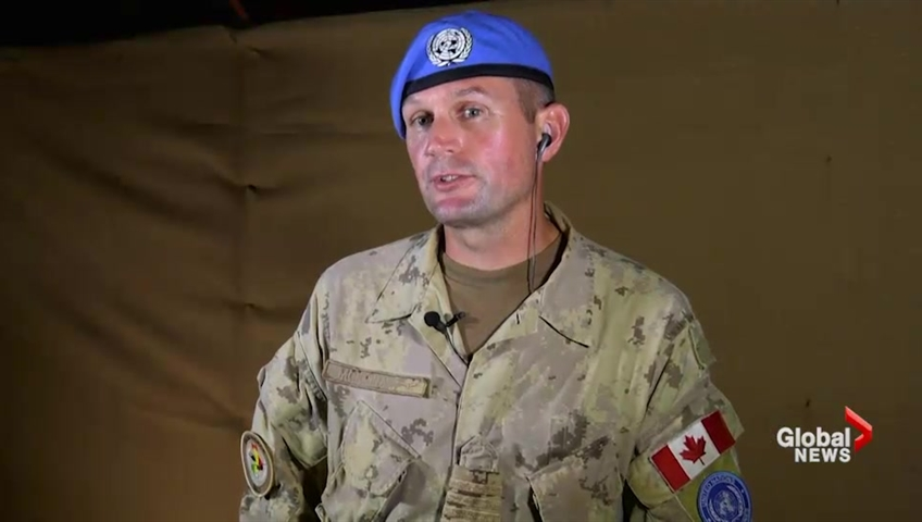 Commander of Canada's air task force outlines mission to Mali