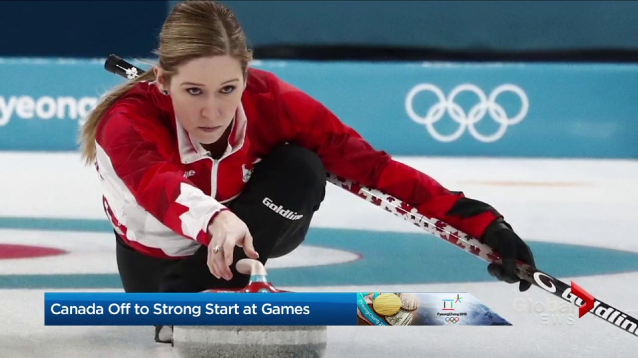 Canada off to strong start at Winter Games 2018