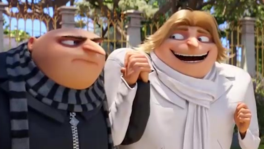 Despicable Me 3 Reveals Gru S Evil Twin Brother Watch News Videos