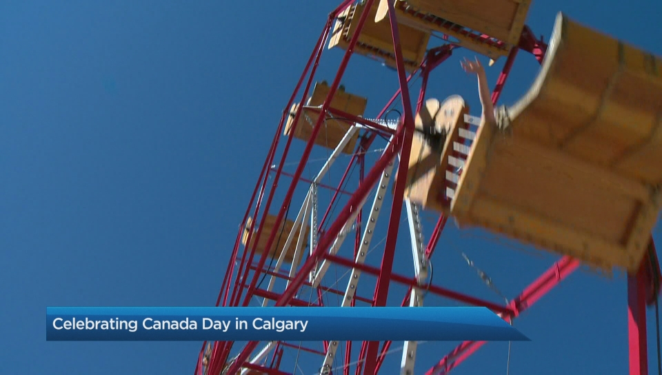 Canada Day Celebrations In Calgary Watch News Videos Online
