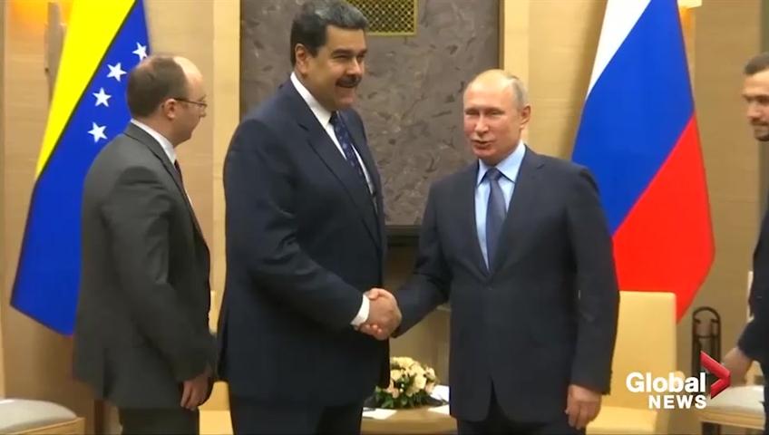 Kremlin: Nicolas Maduro is Venezuela's legitimate president - Russia rejects Trump's calls to withdraw troops from Venezuela